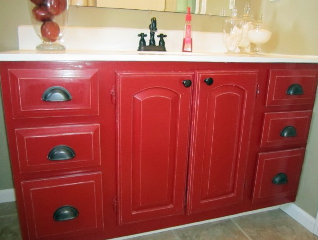 Painting Bathroom Vanity Ideas
