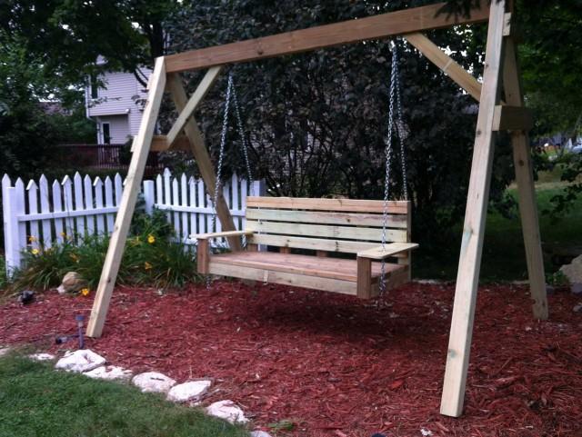 Plans For Porch Swing Frame