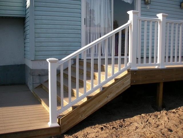 Plastic Porch Railing Systems