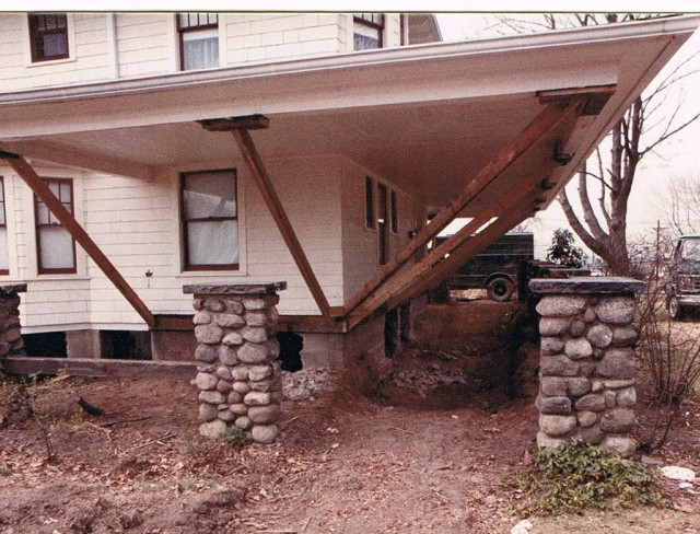 Porch Roof Support Posts