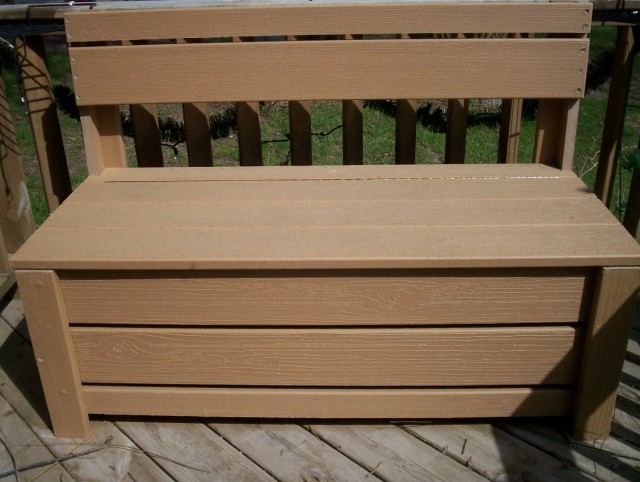Porch Storage Bench Plans