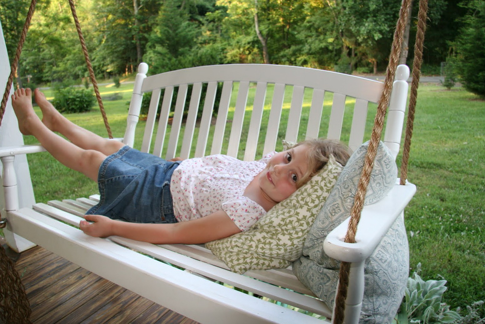 Porch Swing Rope Knot