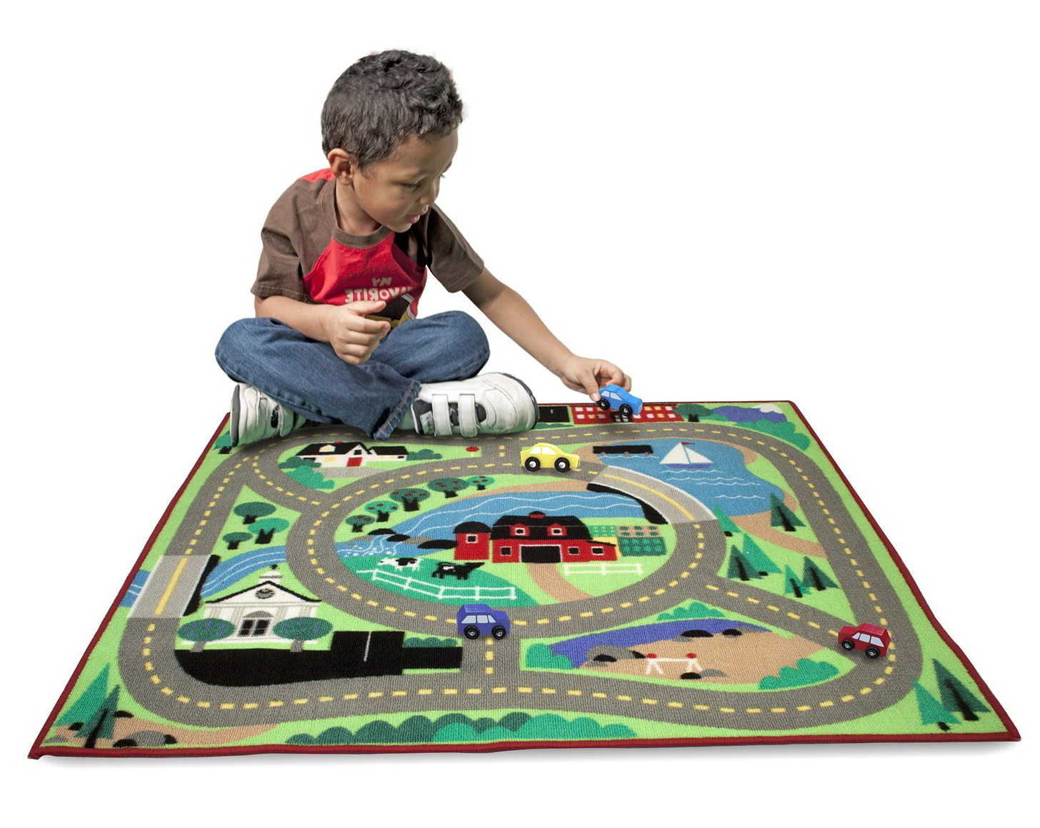 Race Car Rug For Kids