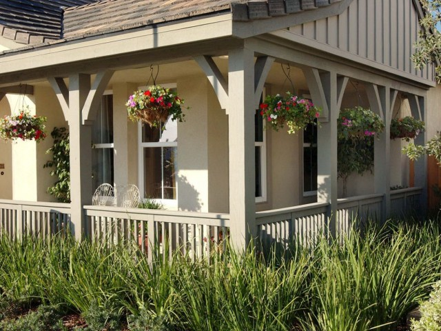 Raised Bungalow Front Porch Ideas