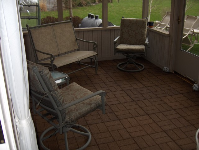 Screen Porch Flooring Options