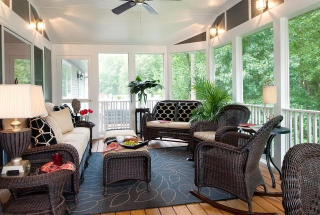 Screen Porch Interior Design