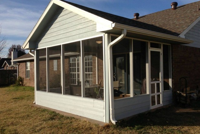 Screened Back Porch Cost