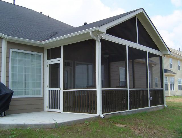 Screened Porch Door Options