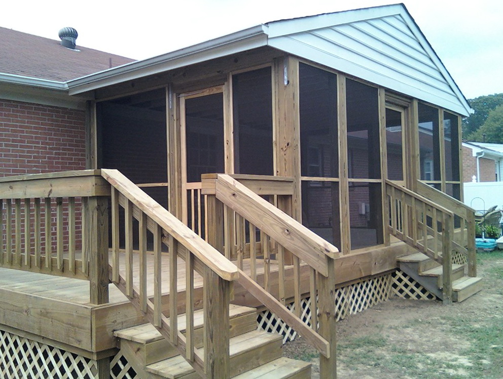 Screened Porch Kits Cost