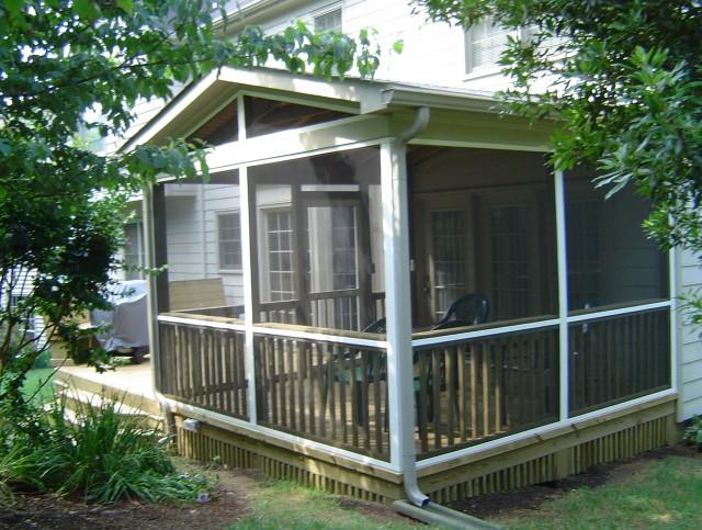Screened Porch Patio Ideas