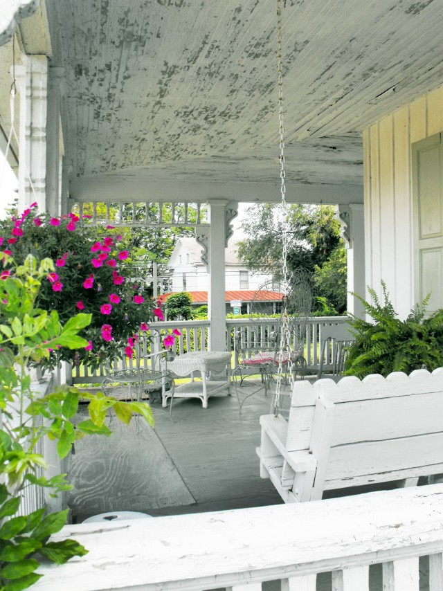 Shabby Chic Back Porch