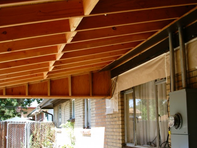 Shed Roof Porch Framing