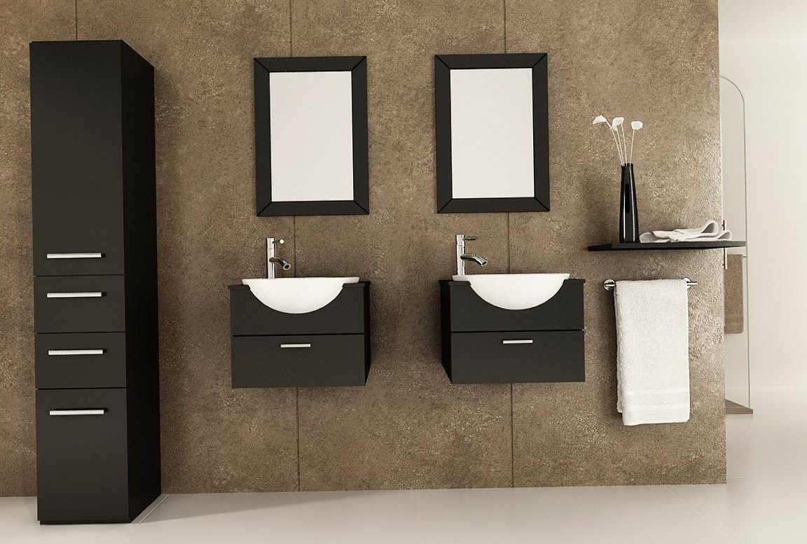 Small Bathroom Double Vanity Ideas