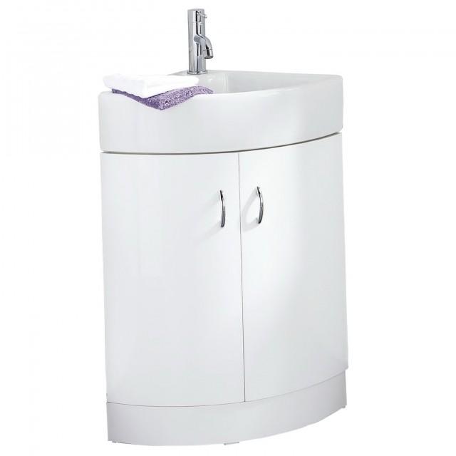 Small Corner Bathroom Vanities