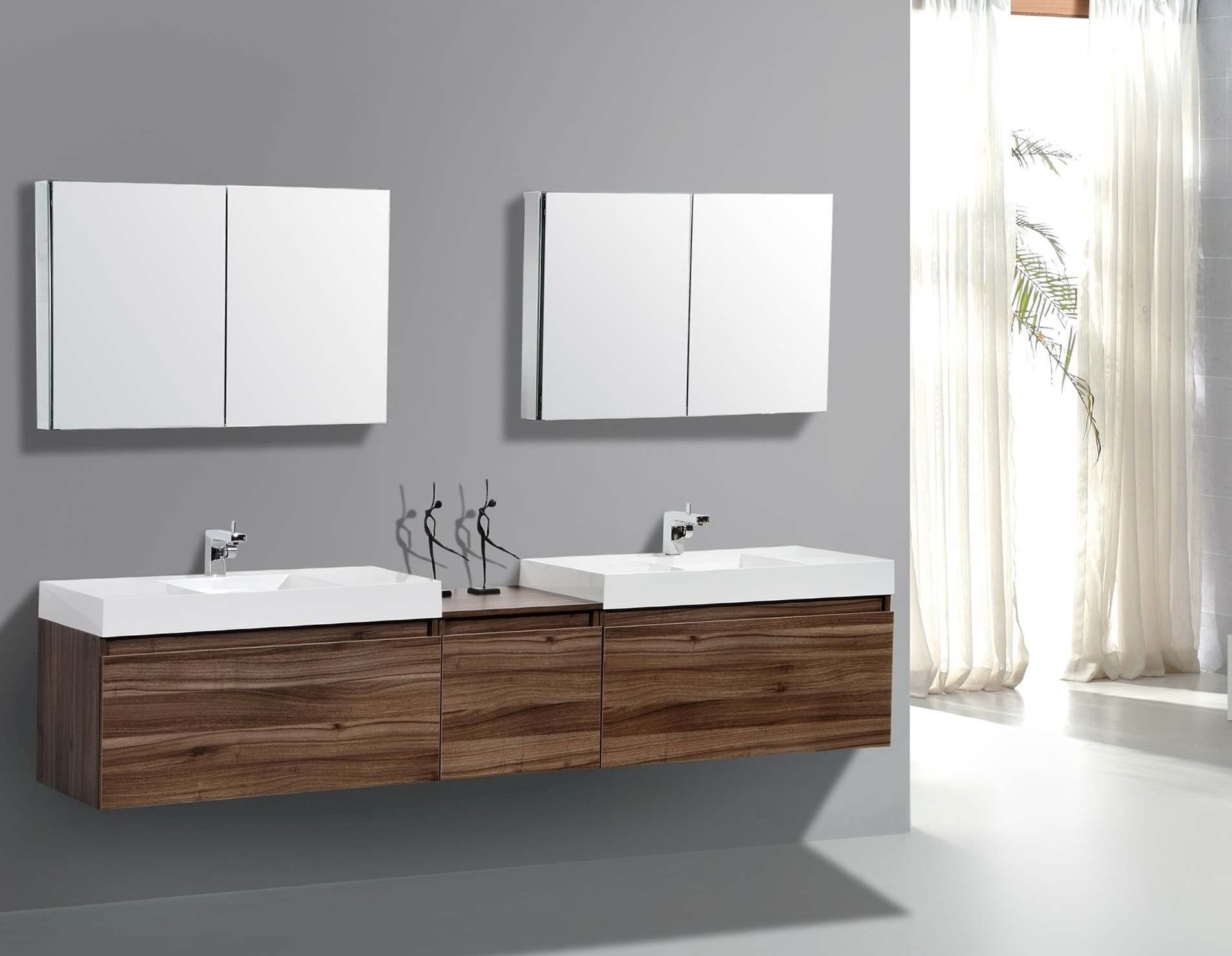 Small Double Basin Vanity