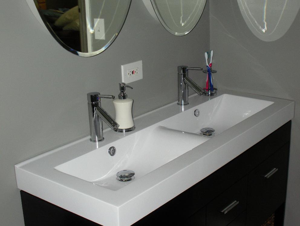 Small Double Vanity Sinks
