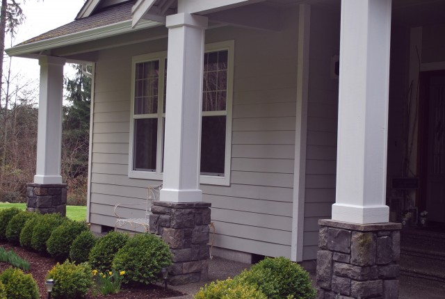 Small Front Porch With Columns