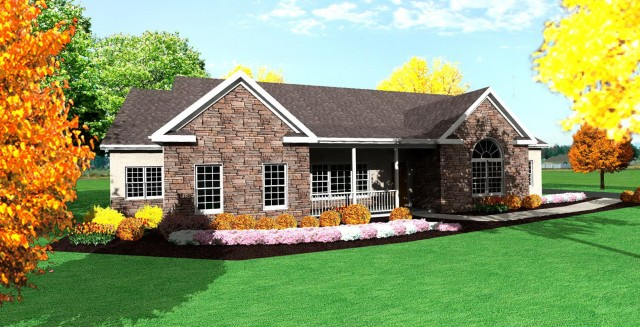 Small Ranch House Plans With Porch