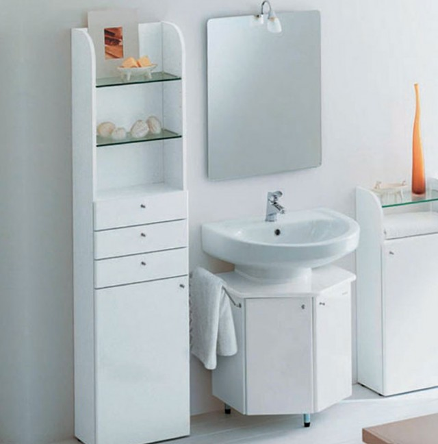 Small Two Sink Vanity
