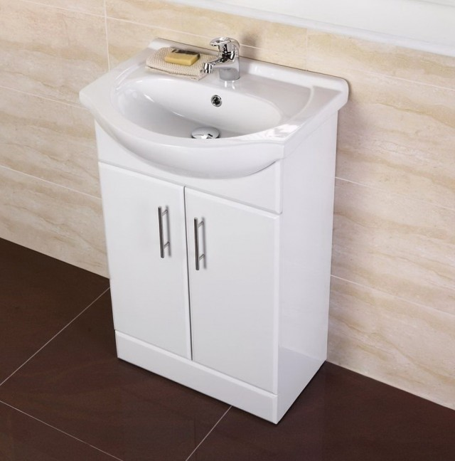 Small White Bathroom Vanity