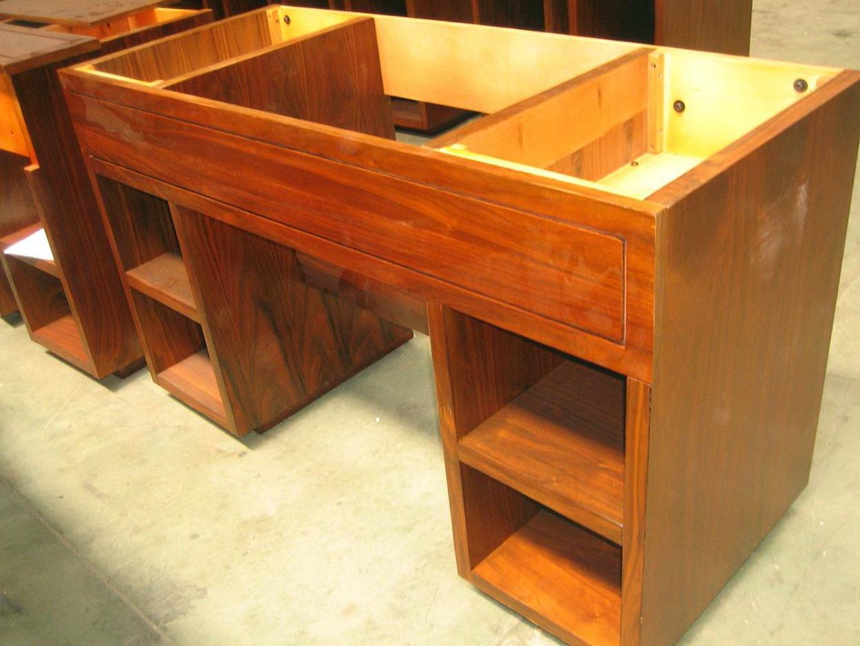 Solid Wood Vanity Base