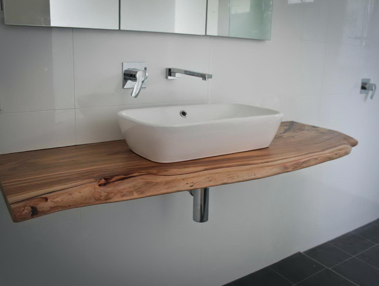 Solid Wood Vanity Top