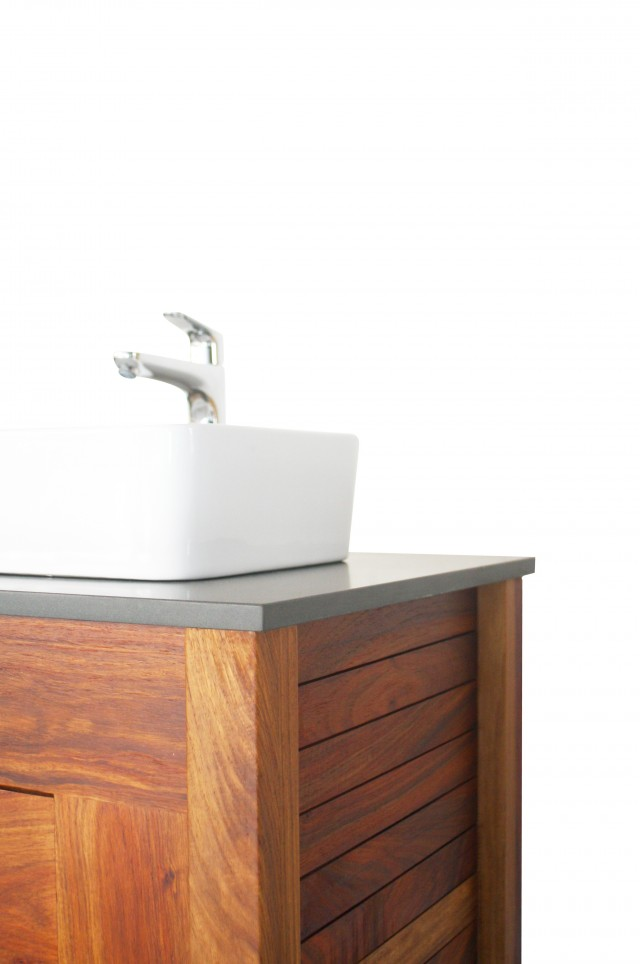 Solid Wood Vanity Unit