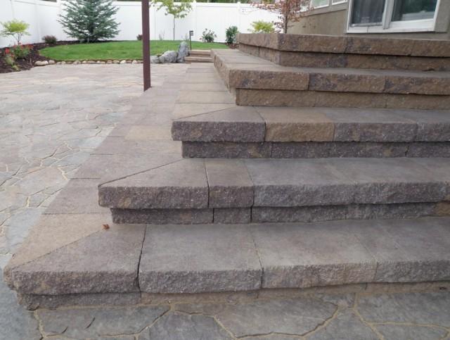 Stone Porch Steps Photos