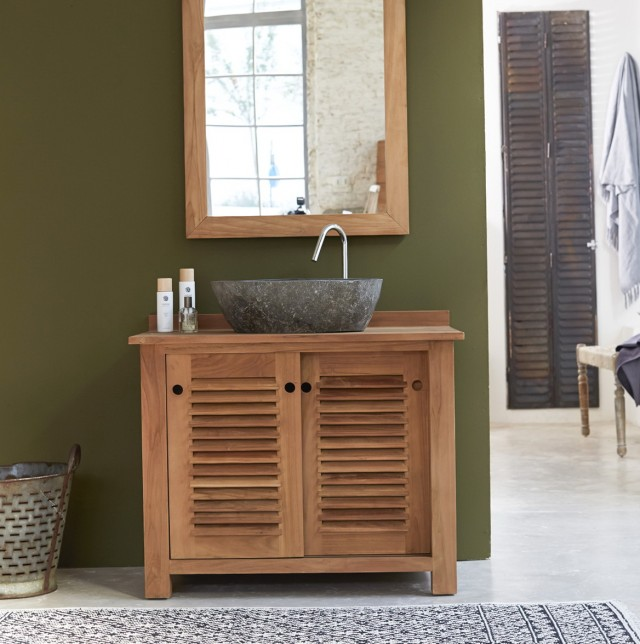 Teak Bathroom Vanity Units