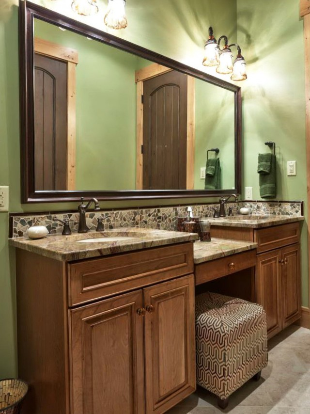 Traditional Timber Bathroom Vanities