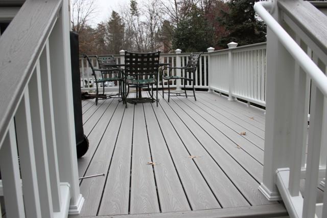 Trex Porch Flooring Installation