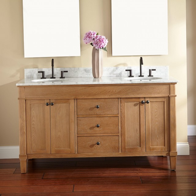 Two Sink Bathroom Vanity