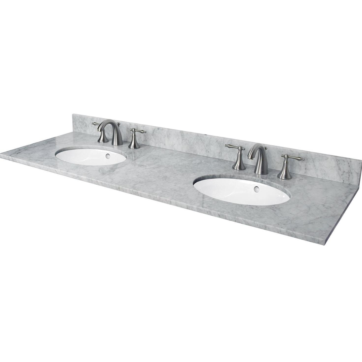 Two Sink Vanity Top