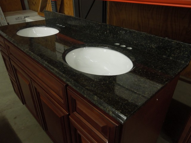 Uba Tuba Granite Bathroom Vanity