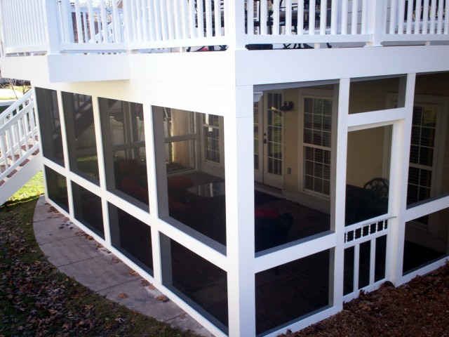 Under Deck Porch Ideas