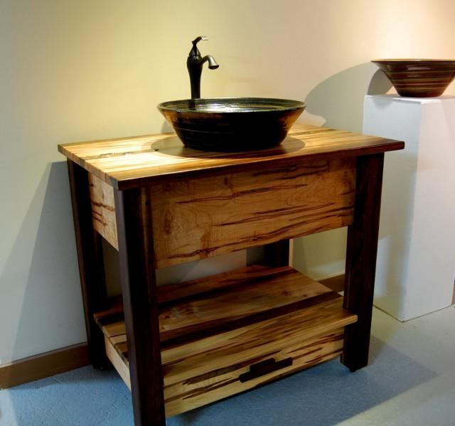 Vanity Base For Vessel Sink