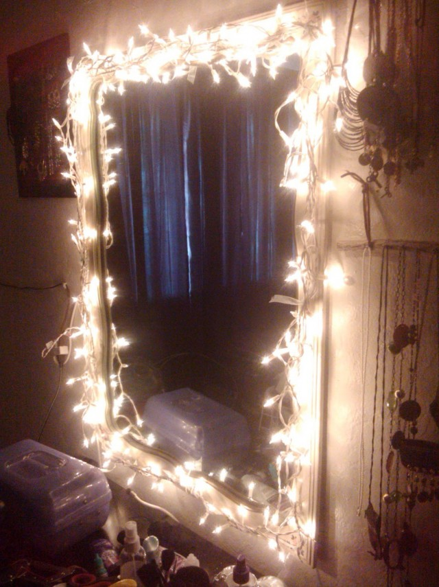 Vanity Light Mirror Diy