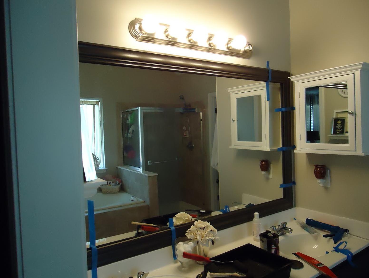 Vanity Light Over Mirror