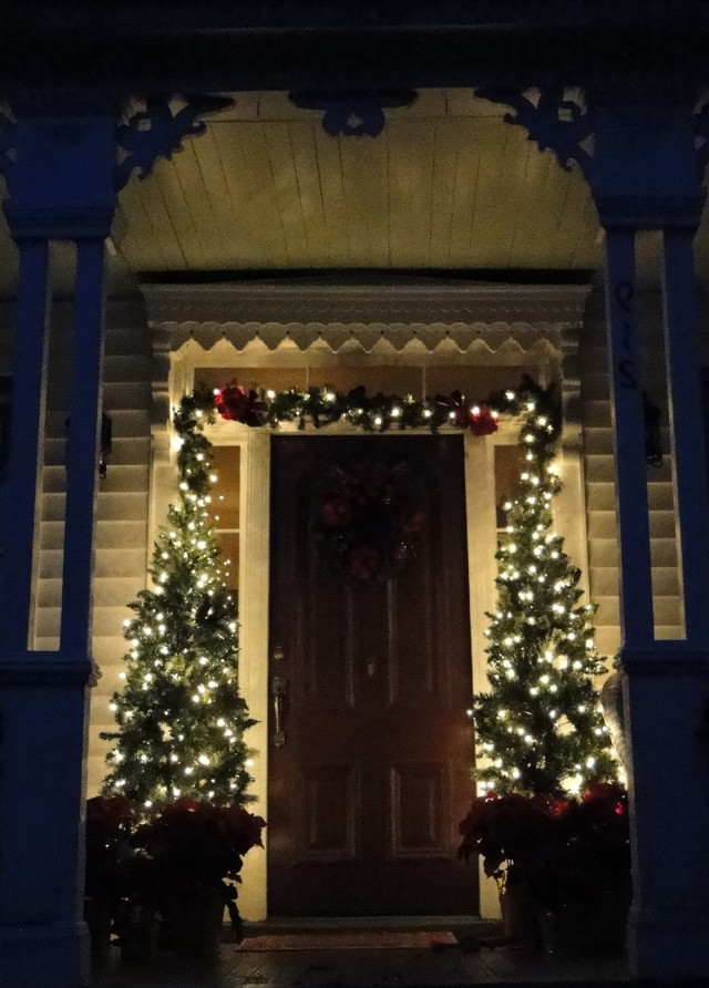 Victorian Front Porch Christmas