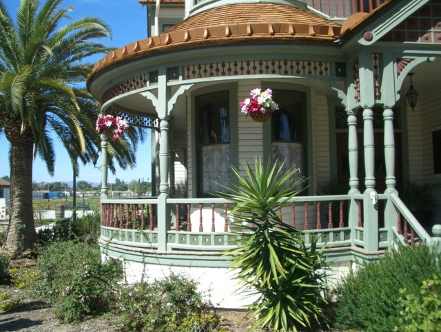 Victorian Front Porch Tour