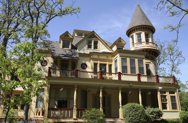 Victorian House Front Porch