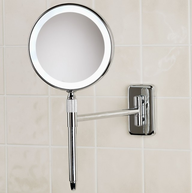 Wall Mounted Vanity Mirror Chrome