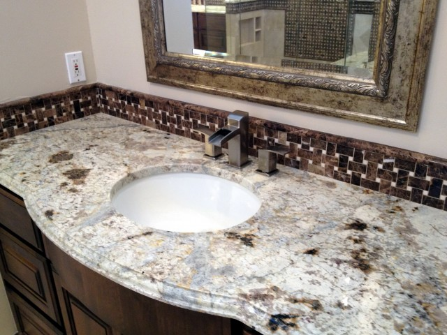 Wheat Granite Vanity Top