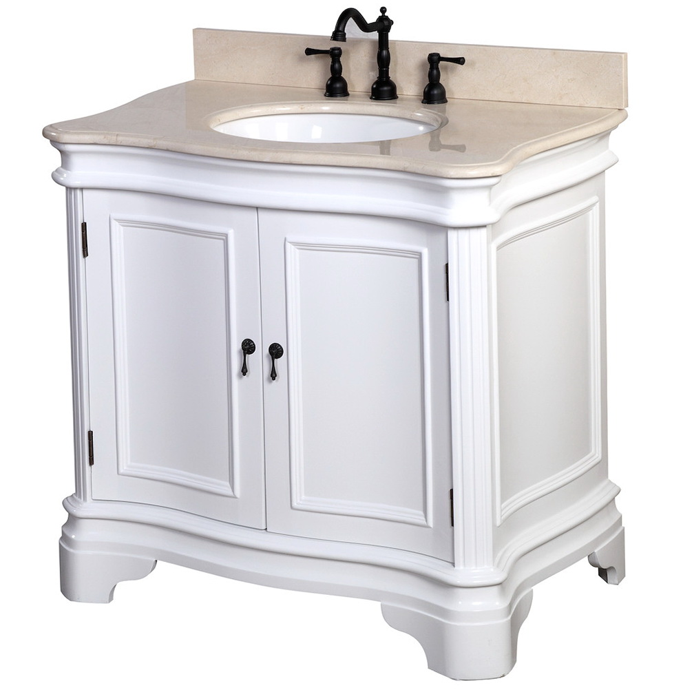 White Bathroom Vanity 36 Inch