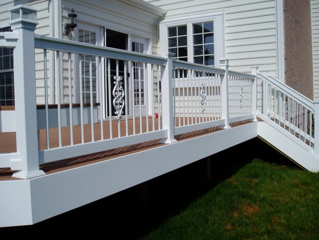 White Porch Railing Pictures