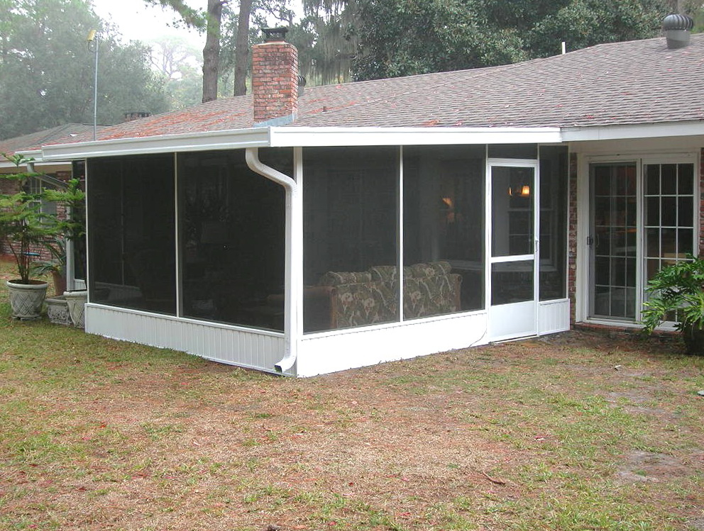 Winterizing Screened Porch Ideas