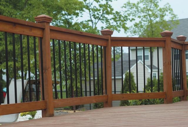 Wooden Porch Railing Kits
