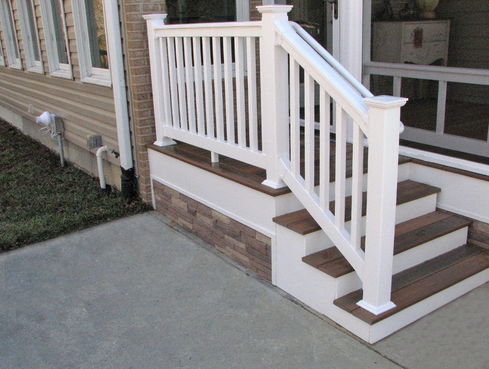 Wooden Porch Steps Lowes