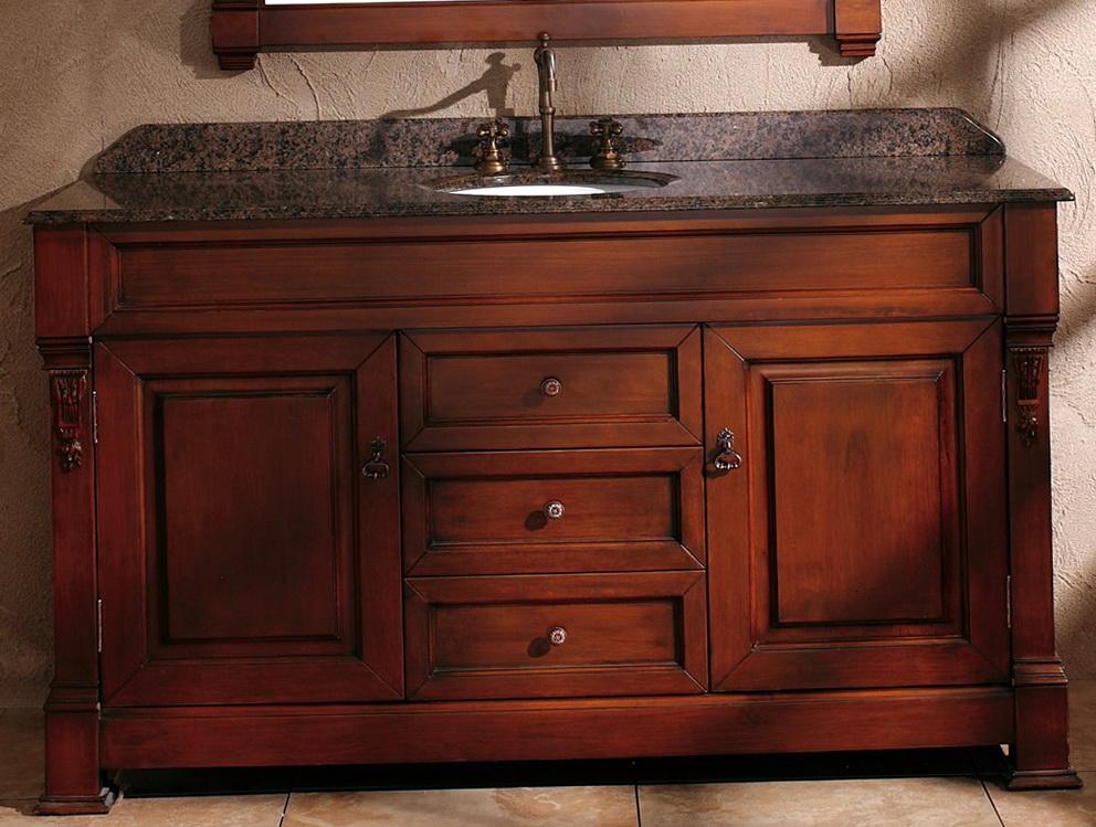 60 Inch Vanity Single Sink Top