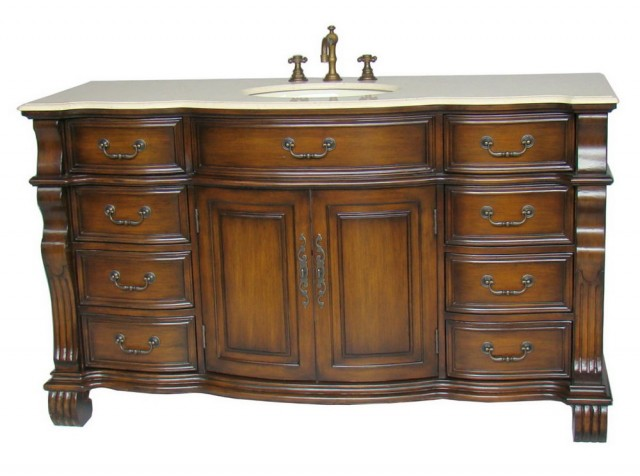 60 Single Sink Vanity Top